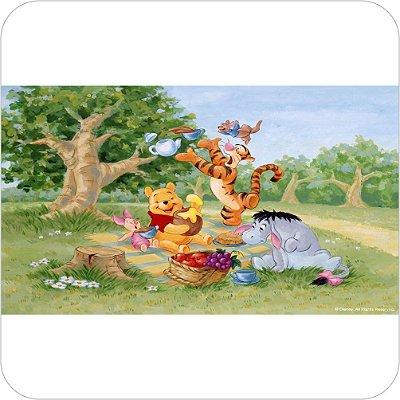Painel de Festa Infantil Baby Pooh - Piquenique