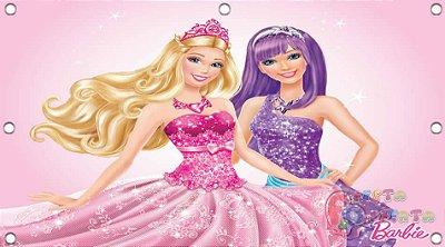 Painel para decoração de festa infantil - Barbie Pop Star
