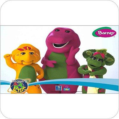Painel de Festa Infantil Barney e Amigos