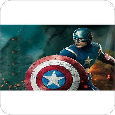 Painel de Festa Infantil Capitão America