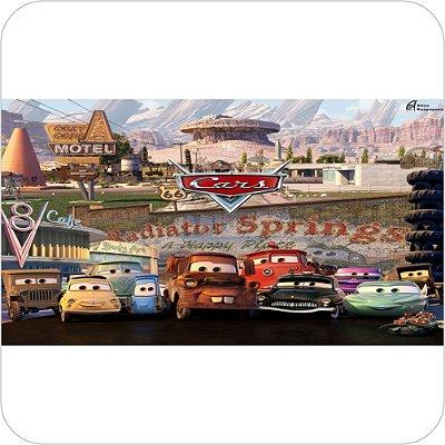 Painel de Festa Infantil Carros - Radiator Springs