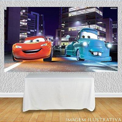 Painel de Festa Infantil Carros - Mater Reformado