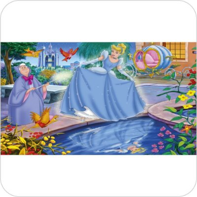 Painel de Festa Infantil Cinderela - Vestido