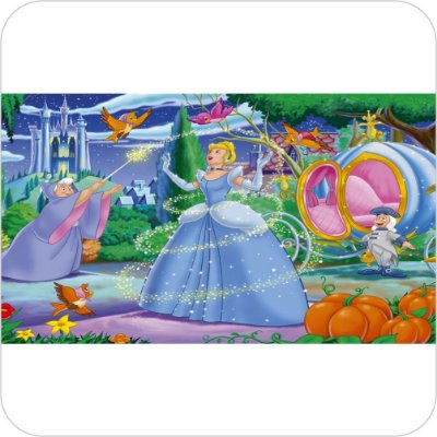 Painel de Festa Infantil Cinderela - Personagens