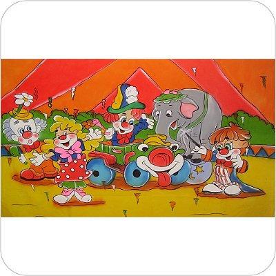 Painel de Festa Infantil Circo Completo na Lona