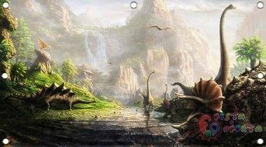 Painel para festa infantil Dinossauros