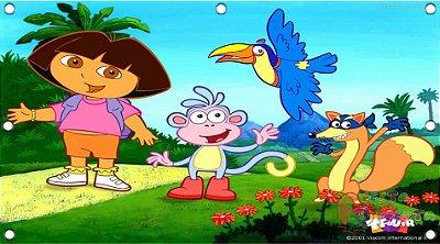 Painel para decoração de festa infantil - Dora Aventureira