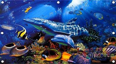 Painel de decoração  - Fundo Do Mar