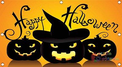 Painel para decoração de festa infantil - Helloween