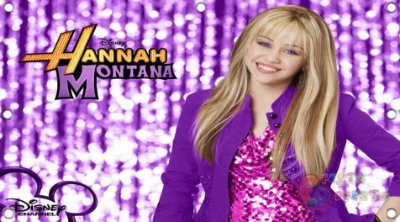 Painel para decoração de festa infantil - Hannah Montana