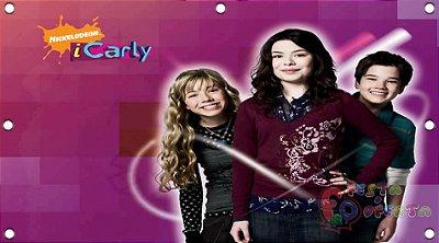 Painel para decoração de festa infantil - I Carly