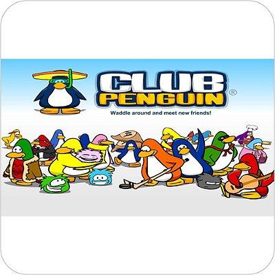 Painel de Festa Infantil Club Penguin