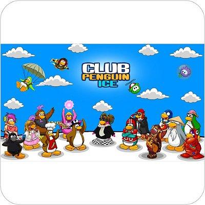 Painel de Festa Infantil Club Penguin - Turma Completa