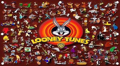 Painel para decoração de festa infantil - Looney Tunes