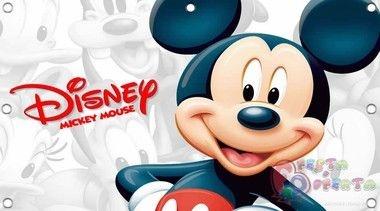 Painel para decoração de festa mickey mouse