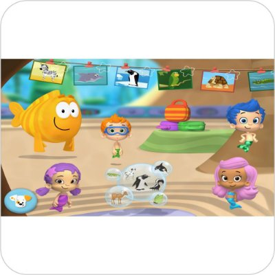 Painel de Festa Infantil Bubble Guppies - Personagens
