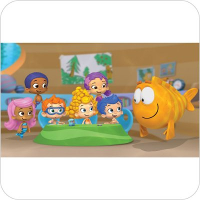 Painel de Festa Infantil Bubble Guppies
