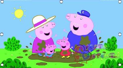 Painel de Festa Peppa Pig