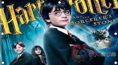 Painel para decoração de festa infantil - Harry Potter