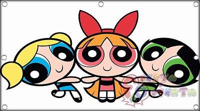 Painel para decoração de festa infantil  -  Meninas Super Poderosas