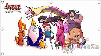 Painel para decoração de festa infantil  -  Hora de Aventura