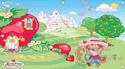 Painel para decoração de festa infantil - Moranguinho Teen