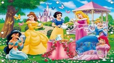 Princesas da disney painel de festa infantil
