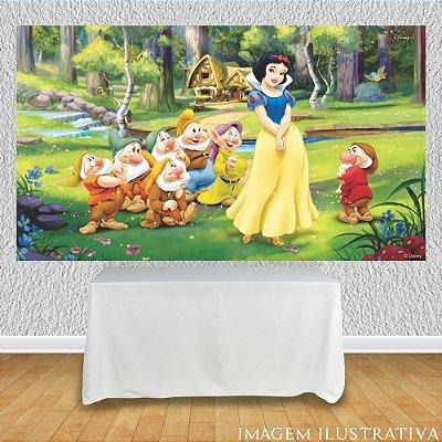Painel de Festa Infantil Branca de Neve e os Sete Anões III