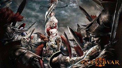 Painel para decoração de festa infantil  -  God of War