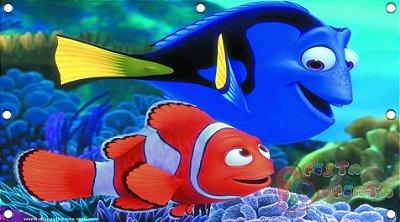 Painel para decoração de festa infantil - Nemo