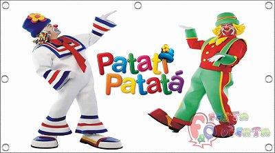 Painel para decoração de festa infantil - Patati Patatá