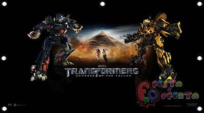 Painel para decoração de festa infantil - Transformers