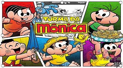Painel para decoração de festa infantil - Turma da Mônica