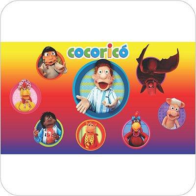 Painel de Festa Infantil Cocoricó - Júlio e Amigos