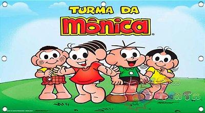 Painel para decoração de festa infantil - Turma da Monica