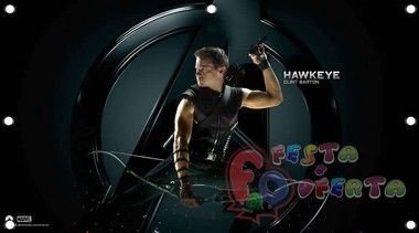 vingadores the avengers hawkeye painel infantil