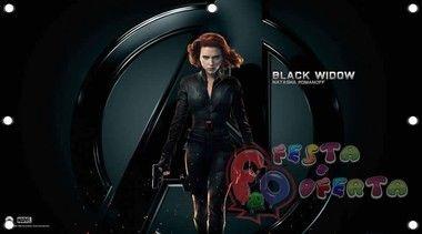 Os Vingadores avengers black widow decoração infantil