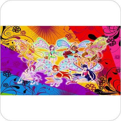 Painel de Festa Infantil Clube das Winx - Rainbow