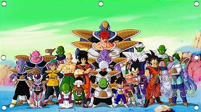 Painel de Festa Infantil Dragon Ball Todos os Personagens