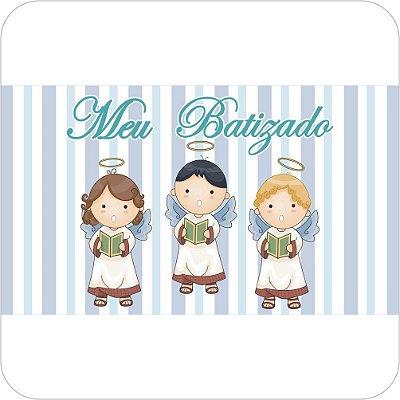 Painel de Festa Infantil Batizado - Meninos