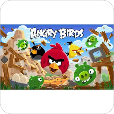 Painel de Festa Infantil Angry Birds Jogo