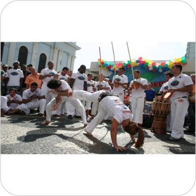 Painel de Festa Infantil Capoeira no Pelourinho