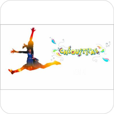 Painel de Festa Infantil Chiquititas - Logo