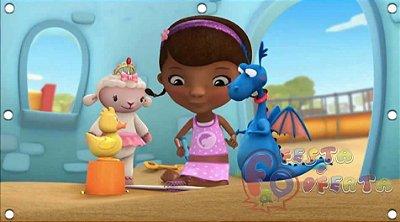 Painel para decoração de festa infantil -Dra Brinquedos