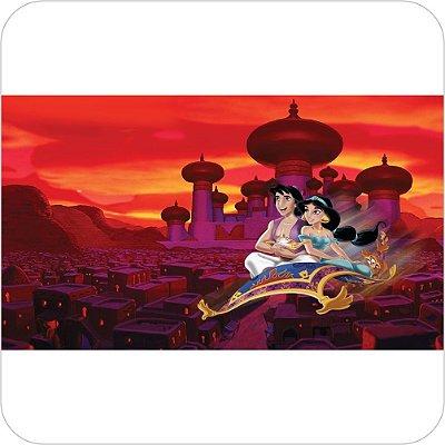 Painel de Festa Infantil Aladdin e Jasmine no Reino