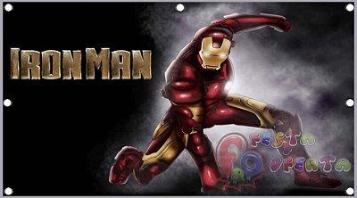 Painel para decoração de festa infantil  - Homem De Ferro