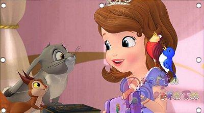 Painel de Festa Princesa Sofia com os Animais