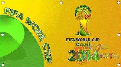 Painel para decoração de festa infantil  -  Copa do Mundo