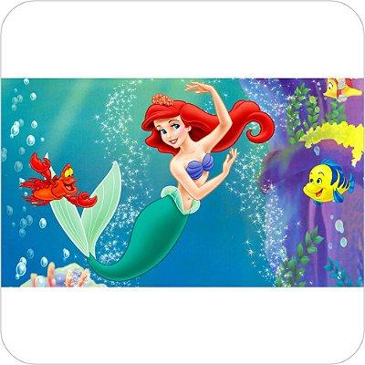 Painel Para Festa Infantil - A Pequena Sereia - Ariel