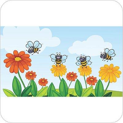 Painel Para Festa Infantil - Abelhinhas nas Flores